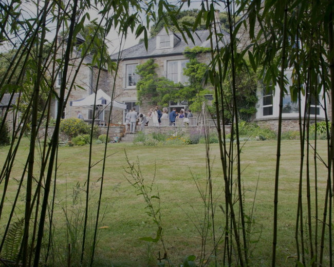 Carwinion House exclusive wedding venue